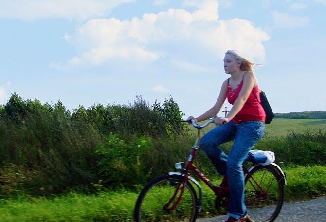 Bike ride around Newcastle