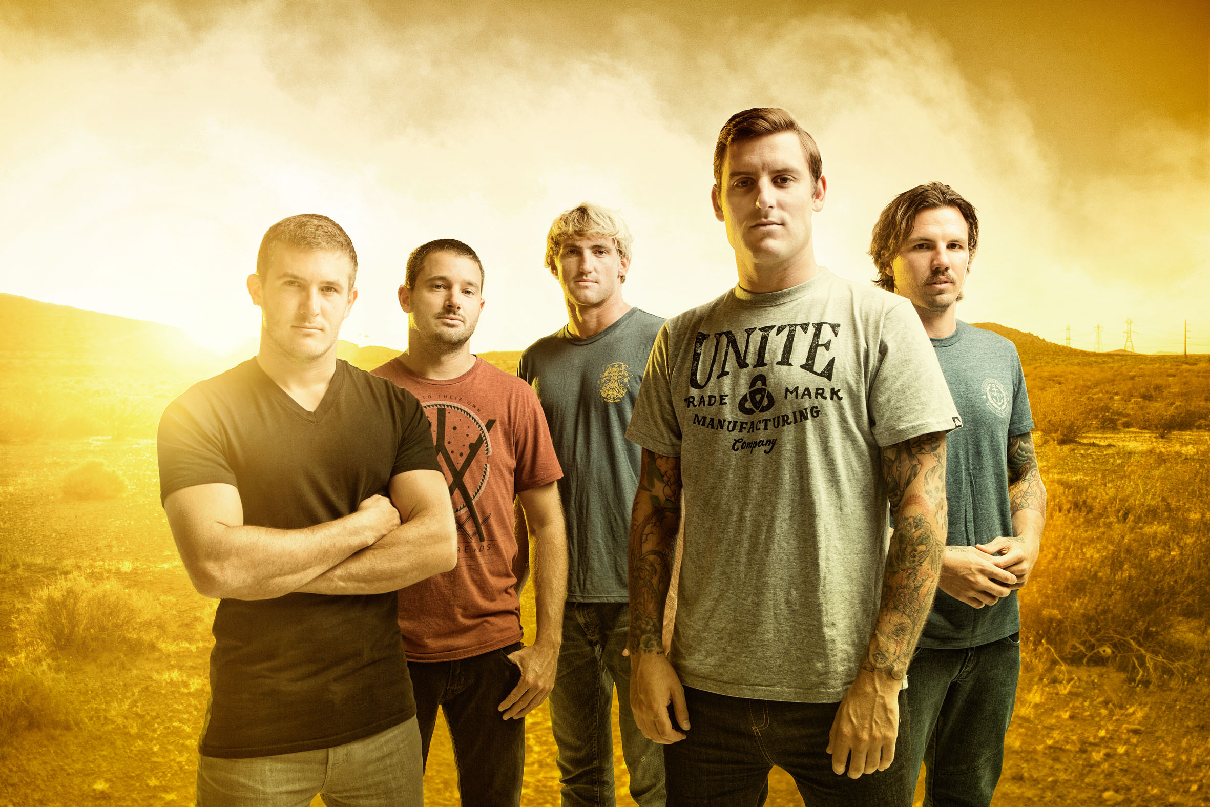 Parkway Drive Newcastle Panthers 2013